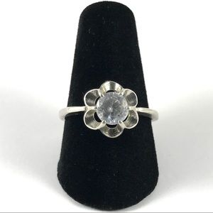 Vintage Sterling Silver 925 Avon Ring Size 7.75